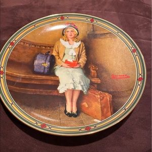 """Other - Norman Rockwell """"A Young Girls Dream"""" Plate"""